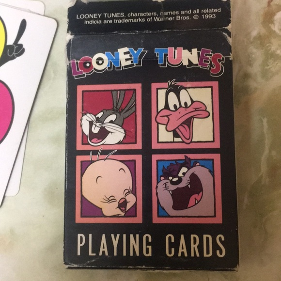 Warner Bros. Other - FREE WITH BUNDLE-1993 Looney Tunes playing cards
